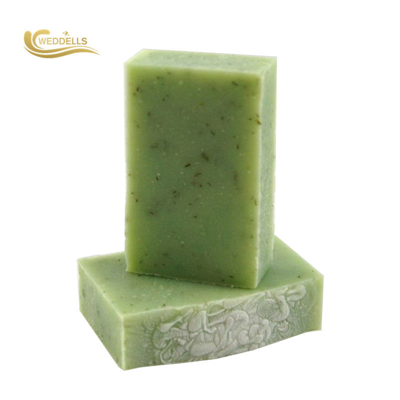 Green Natural Body Soap Bar Facial Soften Clean Skin Soap Honey dưỡng ẩm